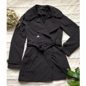 Lululemon Studio Trench Coat - black, size small
